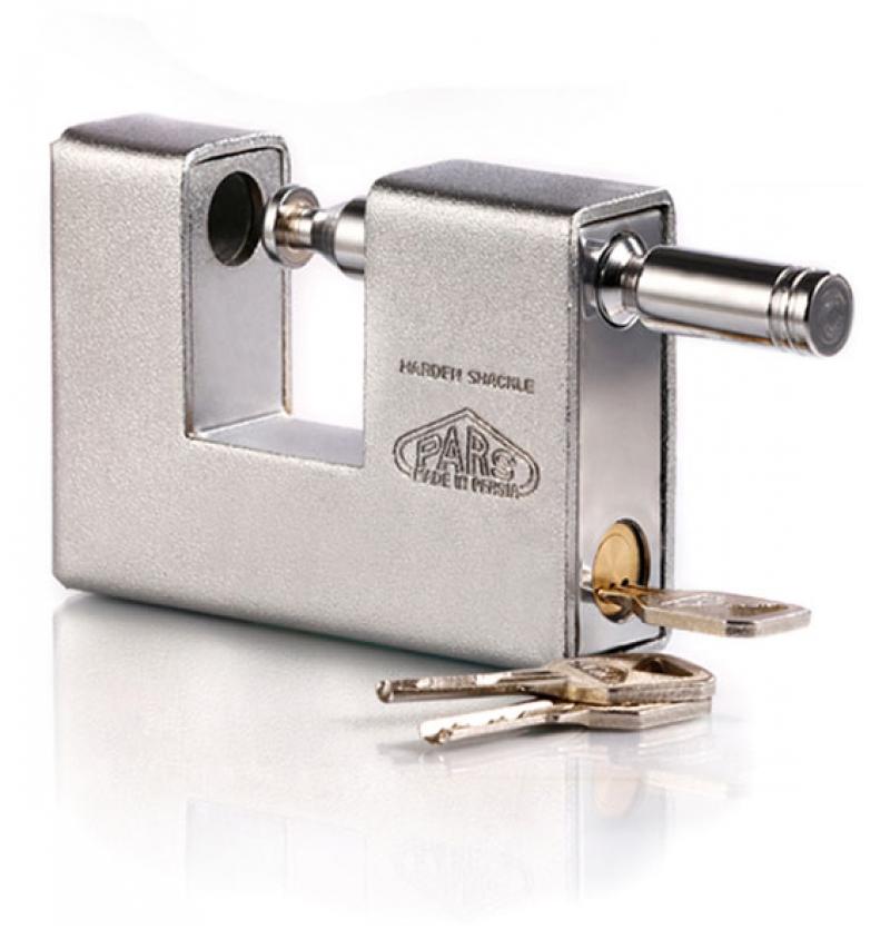 قفل کتابی ۱۰۰۰ RX روپوشدار کلید ویژه - ناودانی