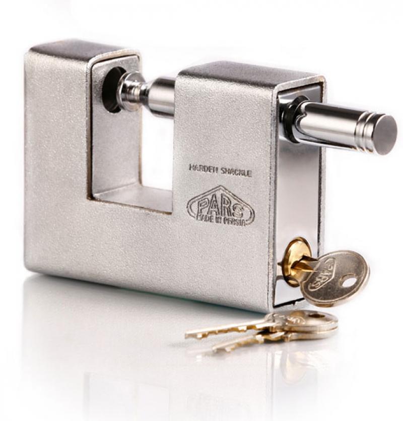 قفل کتابی ۱۰۰۰ S روپوشدار کلید معمولی