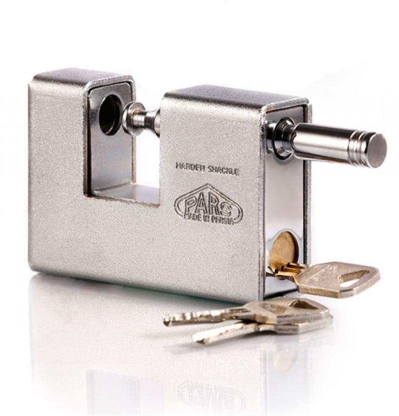 قفل کتابی ۹۰۰ RX روپوشدار کلید ویژه -ناودانی