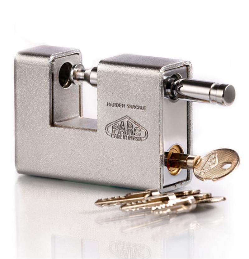 قفل کتابی ۹۰۰ SX روپوشدار کلید چهارپر