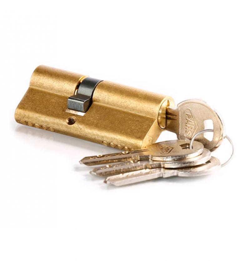 قفل سیلندر برنجی ۷۰P پارس