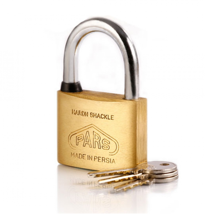 قفل آویز برنجی ۶۰پارس