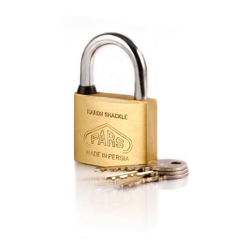 قفل آویز برنجی ۵۰ پارس