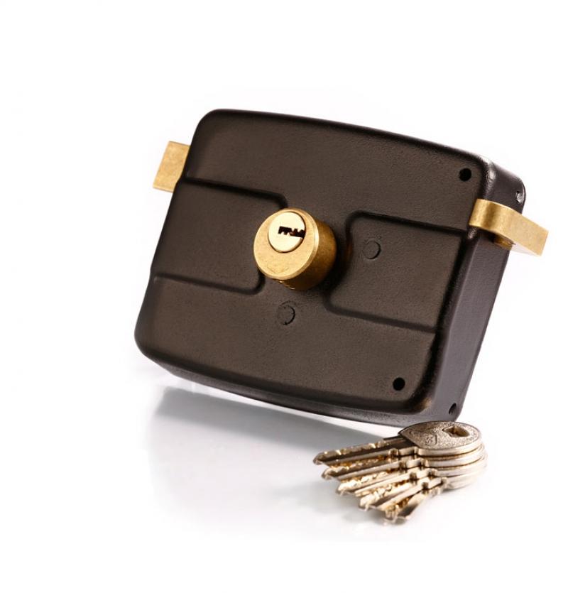 قفل درب حیاطی کلید کامپیوتری پارس