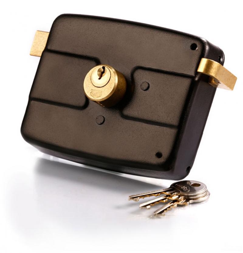 قفل درب حیاطی کلید معمولی پارس